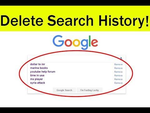 Suchverlauf in Google Chrome löschen