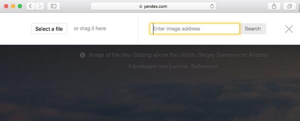 Finden Sie ähnliche Bilder über Yandex Reverse Image Search