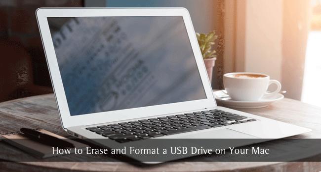 wie man ein Flash-Laufwerk auf einem Mac formatiert