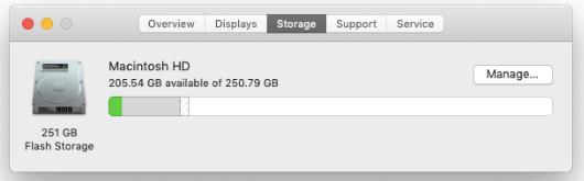 Manuelles Entfernen von Anhängen in neueren Versionen von macOS