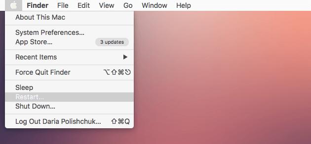 Resatrat Mac, um den Mac zu beschleunigen
