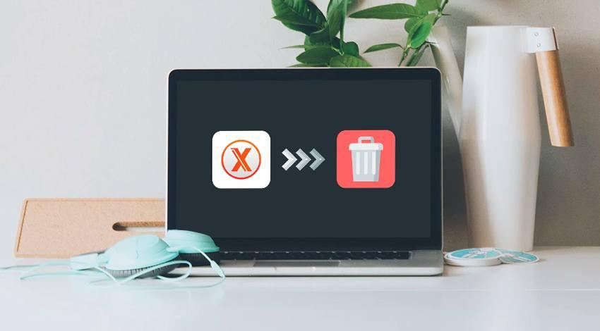 Deinstallieren Sie die App auf dem Mac