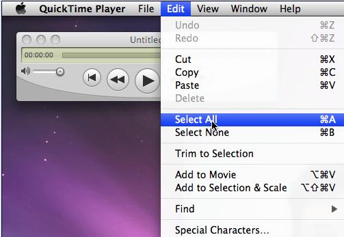 Kombinieren Sie zwei oder mehr Dateien in QuickTime