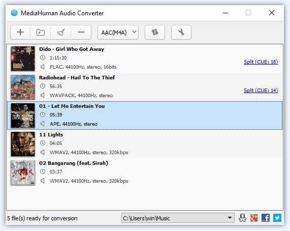 Convert M4A to MP3 Using an Audio Converter