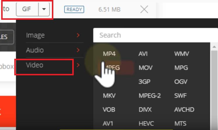 Konvertieren Sie WebM mit Convertio in MP4 Online